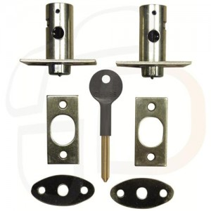 Window bolt suitable for use on wooden casement windows