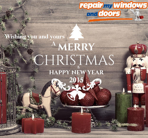 Happy New Year from Repair my Windows and Doors